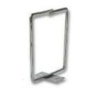 Metalen kabelhouder, schroef-montage 40 x 40 mm
