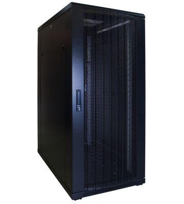 27U serverkast met geperforeerde voordeur 600x1000x1400mm