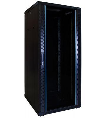 27U serverkast met glazen voordeur 600x600x1400mm