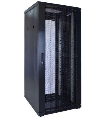 27U serverkast met geperforeerde voordeur 600x600x1400mm