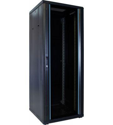 32U serverkast met glazen voordeur 600x600x1600mm