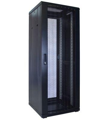 32U serverkast met geperforeerde voordeur 600x600x1600mm