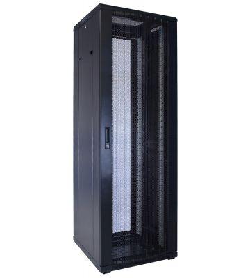37U serverkast met geperforeerde voordeur 600x600x1800mm