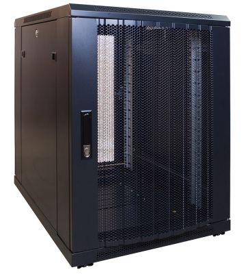 15U minikast met geperforeerde voordeur 600x800x770mm