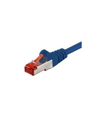 CAT6 SSTP/PIMF 1m blauw