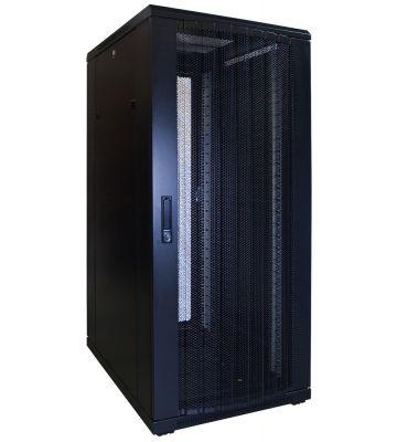 27U serverkast met geperforeerde voordeur 600x800x1400mm