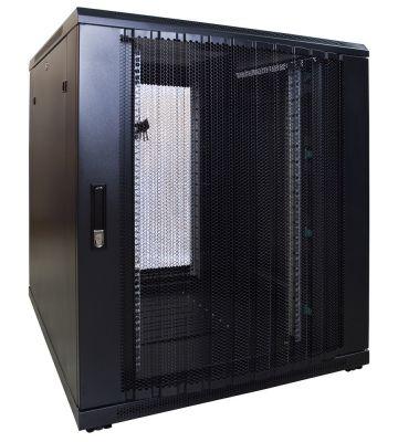 18U serverkast met geperforeerde voordeur 800x1000x1000mm