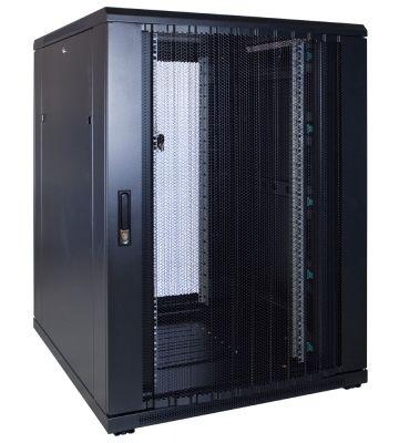 22U serverkast met geperforeerde voordeur 800x1000x1200mm