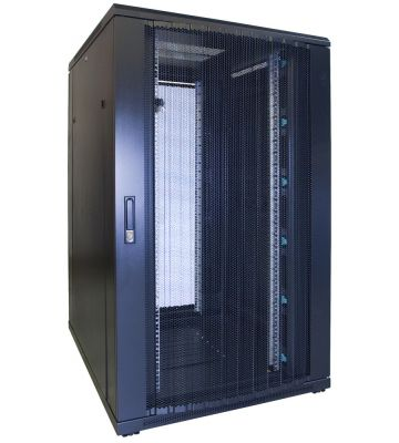 27U serverkast met geperforeerde voordeur 800x1000x1400mm