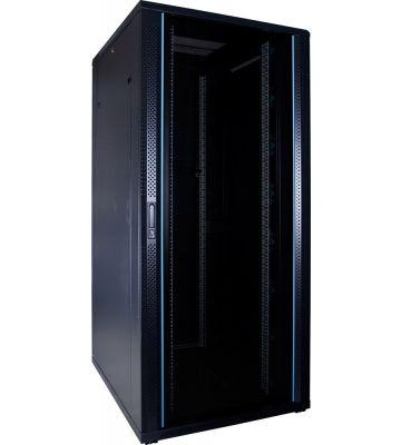 37U serverkast met glazen voordeur 800x1000x1800mm