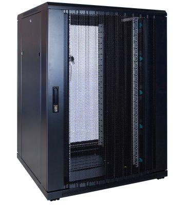 22U serverkast met geperforeerde voordeur 800x800x1200mm