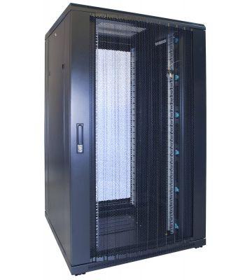 27U serverkast met geperforeerde voordeur 800x800x1400mm