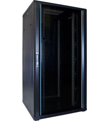32U serverkast met glazen voordeur 800x800x1600mm