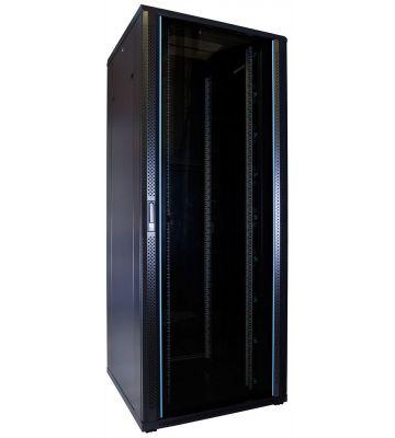 47U serverkast met glazen voordeur 800x800x2200mm