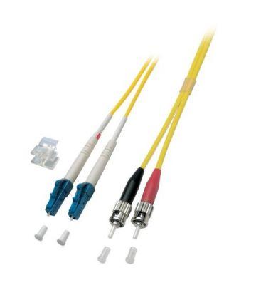 OS2 duplex glasvezel kabel LC-ST 20m