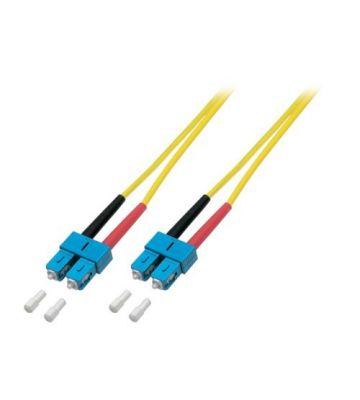 OS2 duplex glasvezel kabel SC-SC 15m