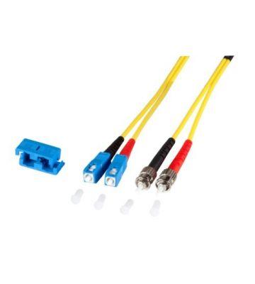 OS2 duplex glasvezel kabel SC-ST 10m