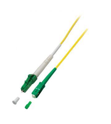 OS2 simplex glasvezel kabel LC/APC-SC/APC 15m