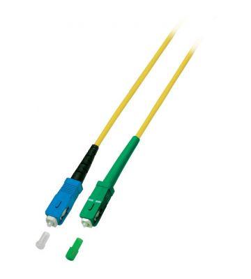 OS2 simplex glasvezel kabel SC/APC-SC 20m