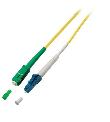 OS2 simplex glasvezel kabel SC/APC-LC 20m