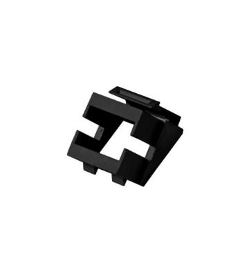 Keystone adapter zwart