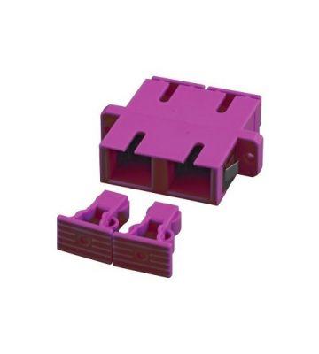 Multimode koppeling SC-SC duplex paars
