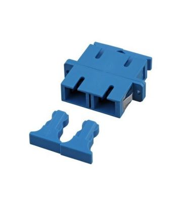 Singlemode koppeling SC-SC duplex blauw
