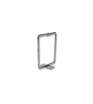 Metalen kabelhouder, schroef-montage 40 x 80 mm