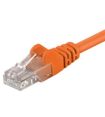 CAT5e UTP 1m oranje - CCA
