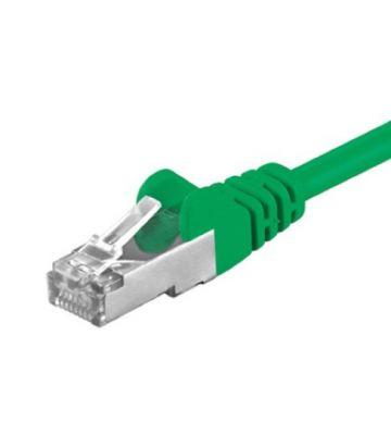 CAT5e FTP 0,50m groen
