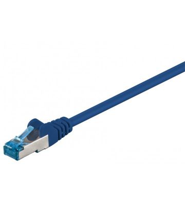 CAT6a S/FTP (PIMF) 0,50m blauw