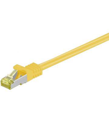 Cat7 SFTP/PIMF 0,50m geel