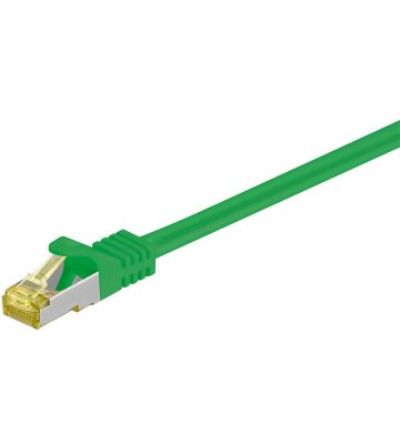 Cat7 SFTP/PIMF 0,25m groen