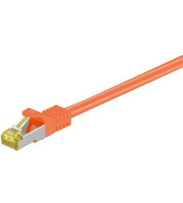 Cat7 SFTP/PIMF 1m oranje