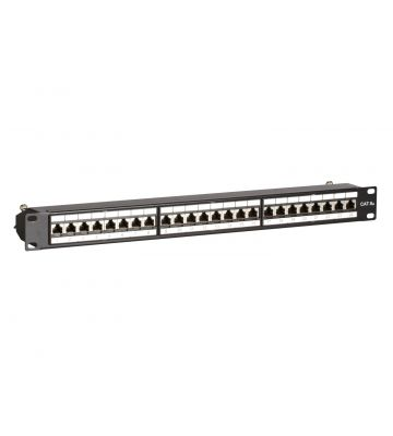CAT6a STP 24 poorts patchpaneel