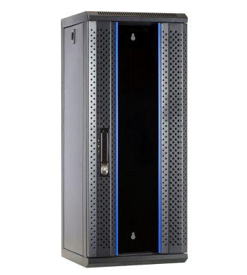 15U serverkast (10 inch) met glazen voordeur 312x310x752mm