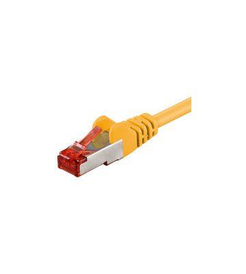 CAT6 SSTP/PIMF 1m geel