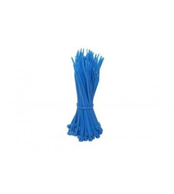 Kabelbinders 200mm blauw - 100 stuks