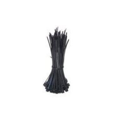 Kabelbinders 200mm zwart - 100 stuks