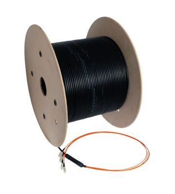 OM3 glasvezel kabel op maat 24 vezels incl. connectoren