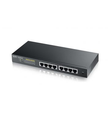 Zyxel 8-poorts GS1900 smart managed PoE+ switch